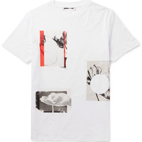 McQ Alexander McQueen - Slim-Fit Printed Cotton-Jersey T-Shirt