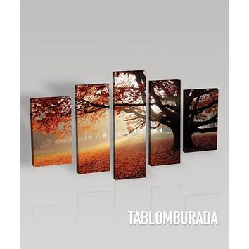 LARGE CANVAS Wall Art Canvas Print Ready to Hang 5 Panels Best Quality Print for Great Home