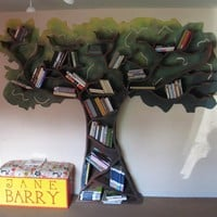 Tree of Knowledge Custom Bookcase by kb18951452 on Etsy