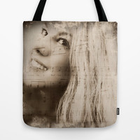 The Song In Your Heart Tote Bag by Louisa Catharine Forsyth