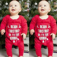 New Baby Clothes Babyworks One Pieces Baby Letter Romper Infant Boys Girls Long Sleeve Jumpsuits Clothing Baby Rompers #ES