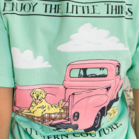 Enjoy The Little Things Tee | Southern Couture