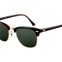 Look who's looking at this new Ray-Ban Clubmaster Classic