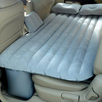 IFLYING Auto Car Inflatable AirBed Mattress for Back Seat of Cars Jeeps SUV's and Mid-size Trucks Outdoor Travel