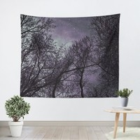 Purple Night Tapestry