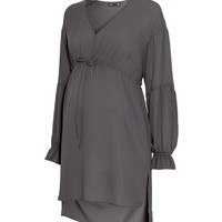 MAMA V-neck Tunic - from H&M
