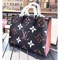 Louis Vuitton LV New Fashion Women Leather Handbag Satchel Shoulder Bag