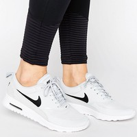 Nike Air Max Thea Trainers In Pale Grey at asos.com
