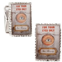 """James Bond """"For Your Eyes Only"""" Cufflinks-CLI-RR-329-GR"""
