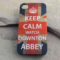 """Original """"Keep Calm Watch Downton Abbey"""" iPhone 4 / iPhone 4S / iPhone 5 Case"""