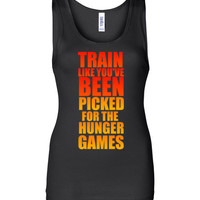 Train Like You've Been Picked for the Hunger Games Tank Top