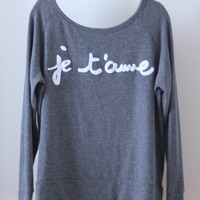 Je t'aime Crewneck (MORE COLORS)