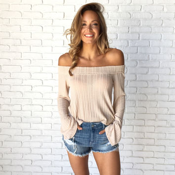 Give Me Butterflies Knit Top