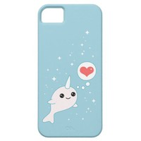Cute Narwhal iPhone 5 Case from Zazzle.com