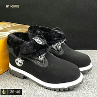 Timberland Martin in the high-top fashion men's shoes F-HAOXIE-ADXJ Black