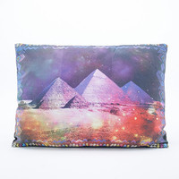 Cosmic Pyramid Cushion - Urban Outfitters