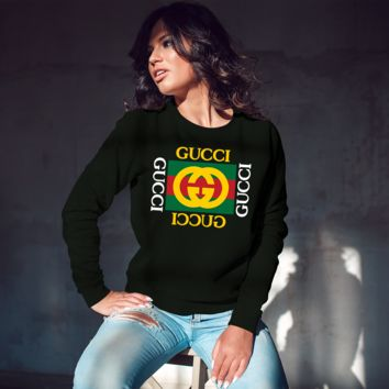 Gucci Inspired Unisex Crew-neck Sweatshirt [03061]