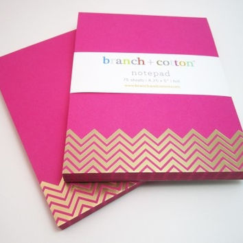 Chevron Notepads