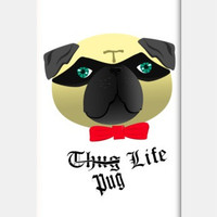Pug Life iPhone 5c Cases | Artist : Nitin Kapoor