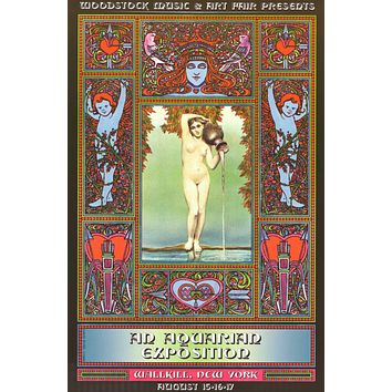 Woodstock - An Aquarian Exposition - Poster 24x36