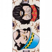 Flip Penny Cheech and Chong Tie-Dye Skateboard Complete - 8.13""