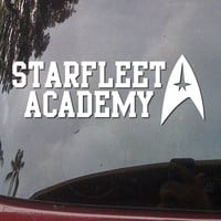 STARFLEET ACADEMY Trek Car Truck Body Bumper Star Vinyl Decal Window Sticker E46