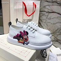 McQueen Women's Men's 2020 New Fashion Casual Shoes Sneaker Sport   Running Shoes