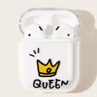 Crown Pattern Air-Pods Charger Box Protector