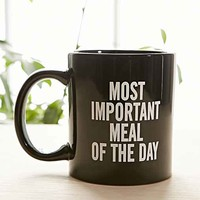 Most Important Meal Of The Day Mug- Black & White One