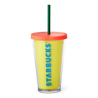 Cold Cup Tumbler - Bright Yellow | Starbucks® Store