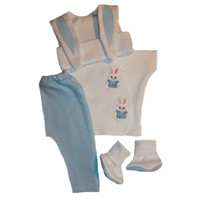 Baby Boys' Bunny Clothing Set