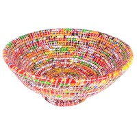 X Large Wrapper Fruit Bowl - Pink - Jeevankala (T)