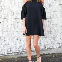 Casual Daily Solid Color Halter Casual Dress
