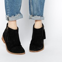 ASOS AMELIE Wide Fit Suede Ankle Boots