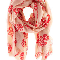 All Accessories   Naturals Leopard Spot Scarf    Oasis