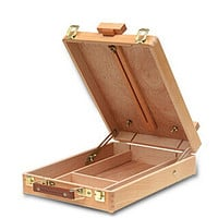 Fillet Portable Case Box Easel Painting Hardware Accessories Multifunctional Painting Suitcase Storage