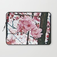 In Bloom Laptop Sleeve by DuckyB (Brandi)