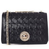 Versace EE1VRBBD4 Black Shoulder Bag for Women