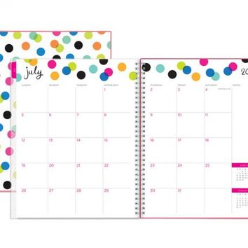 "Ampersand ""Dots"" Weekly/Monthly 8.5 x 11 July 2015 – June 2016"