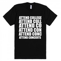 Attend College Concerts TShirt