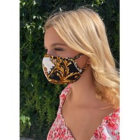 Versace Inspired Mask