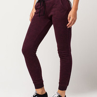 FULL TILT Essential Marled French Terry Womens Jogger Pants   Pants + Joggers