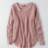 AEO TEXTURED THERMAL SWEATER