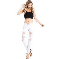 Hyper Ripped Skinny Jeans