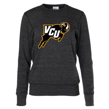 NCAA VCU Rams PPVCU07 Women's Crew Neck Sweatshirt