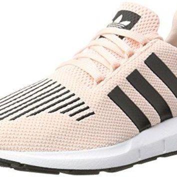 adidas Originals Swift Run Icey Pink Textile Youth Trainers