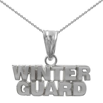 Sterling Silver Winter Guard Necklace | WinterGuard