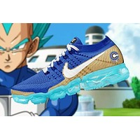 Dragon Ball Z x Nike Air VaporMax Flyknit Running Shoes Sneaker ¡°Super Blue¡±AA3858-103