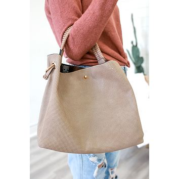 Sorrento Coast Bag - Taupe