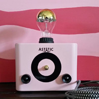 Astatic Radio lamp